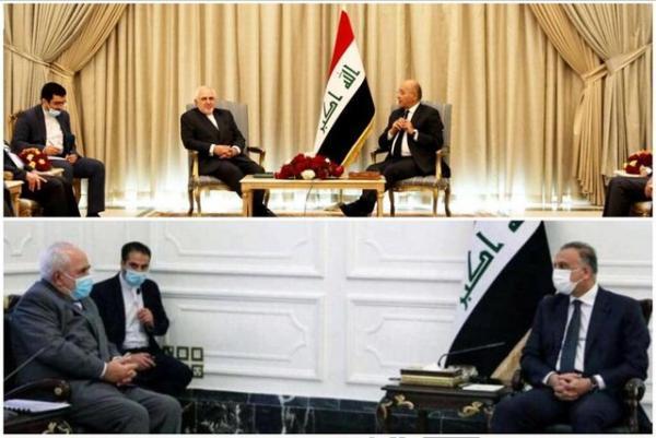 گزارش توییتری ظریف از سفرش به عراق