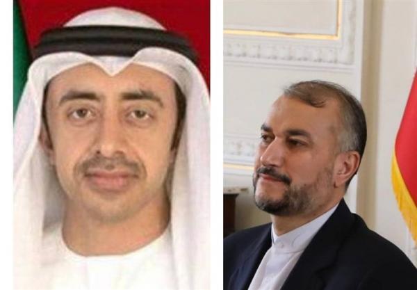 تماس تلفنی وزیر خارجه امارات با امیرعبداللهیان